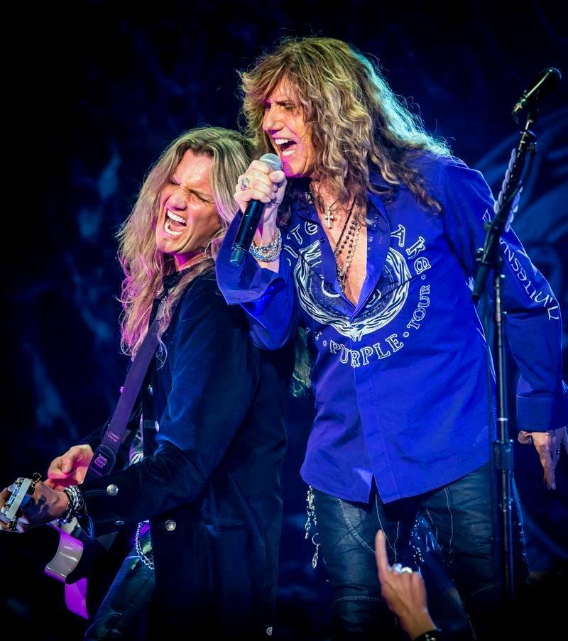 Joel and David Coverdale