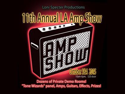 L.A. Amp Show 2015, part 1